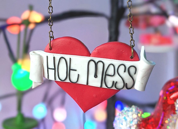 Hot Mess Necklace