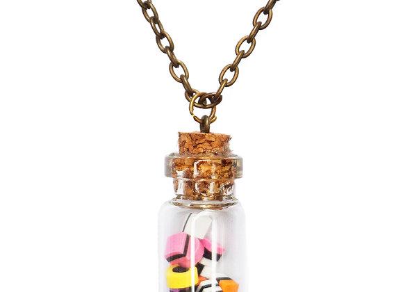 Miniature Liquorice Allsorts Necklace