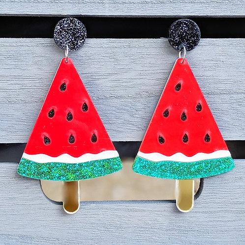 Melon Lolly Earrings