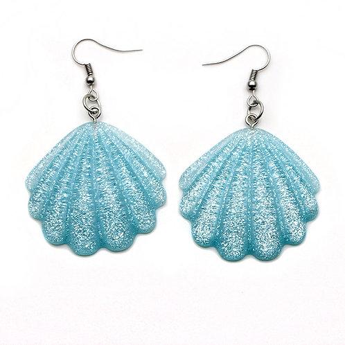 Glitter Shell Earrings
