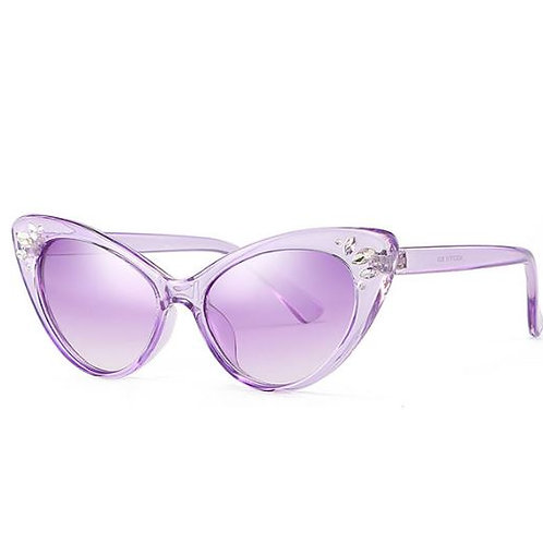 Diamonte Cat Eye Sunglasses