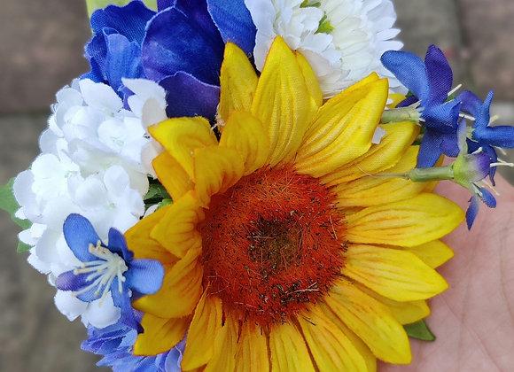 Sunflower hairflower