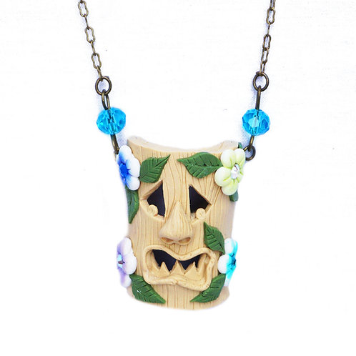 Tropical Tiki Necklace