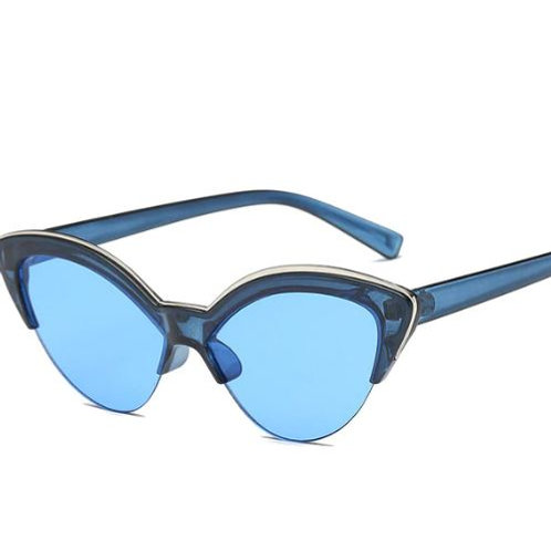 Coloured Cat Eye Sunglasses