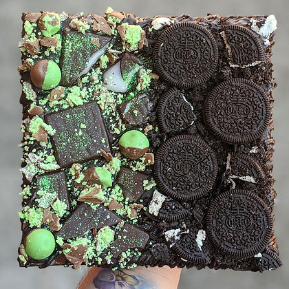 Half N Half Vegan Brownie Slab *Different Flavours Available*