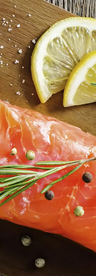鮭魚與檸檬
