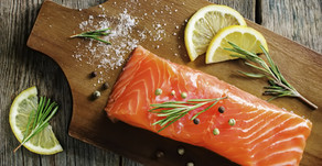 Ginger Broiled Salmon