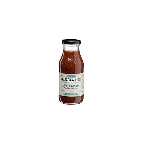 Apfelwein Senf Sauce