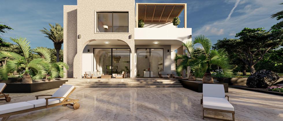 Villa Dış - Project Ibiza, İspanya