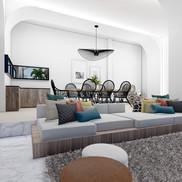 Living Room Design - Ibiza, Spain