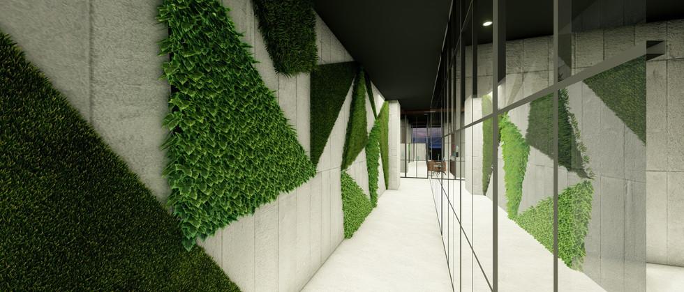Ofis Holü - Yeşil Duvar