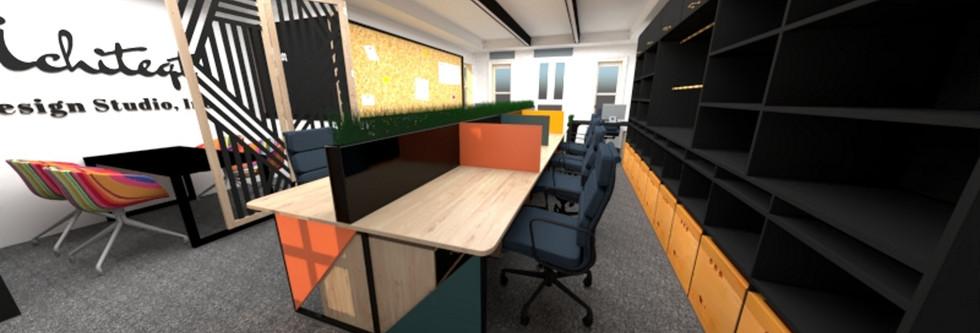 Office Design Render