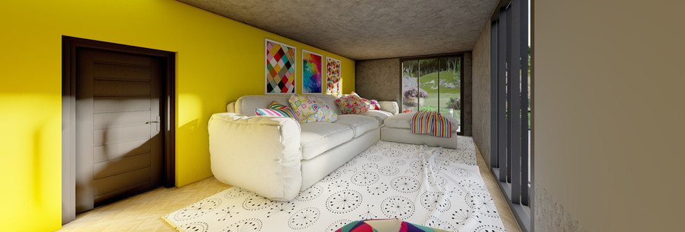 Relaxation Room - Amsterdam House Project