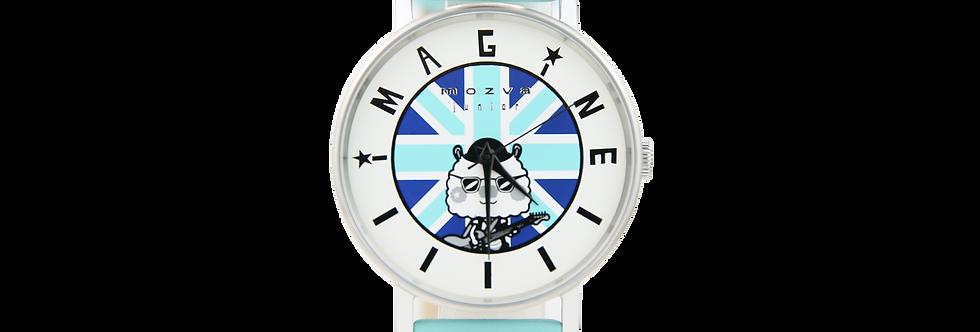 Sing Sing Rabbit X Mozva Junior Quartz Watch Series (Blue)