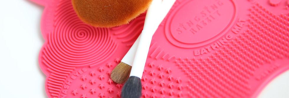 Brush Bathing Mat ( Pink / Blue )