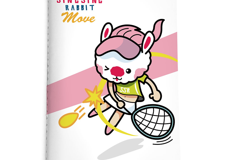 Sing Sing Rabbit Notebook (Flexibility)