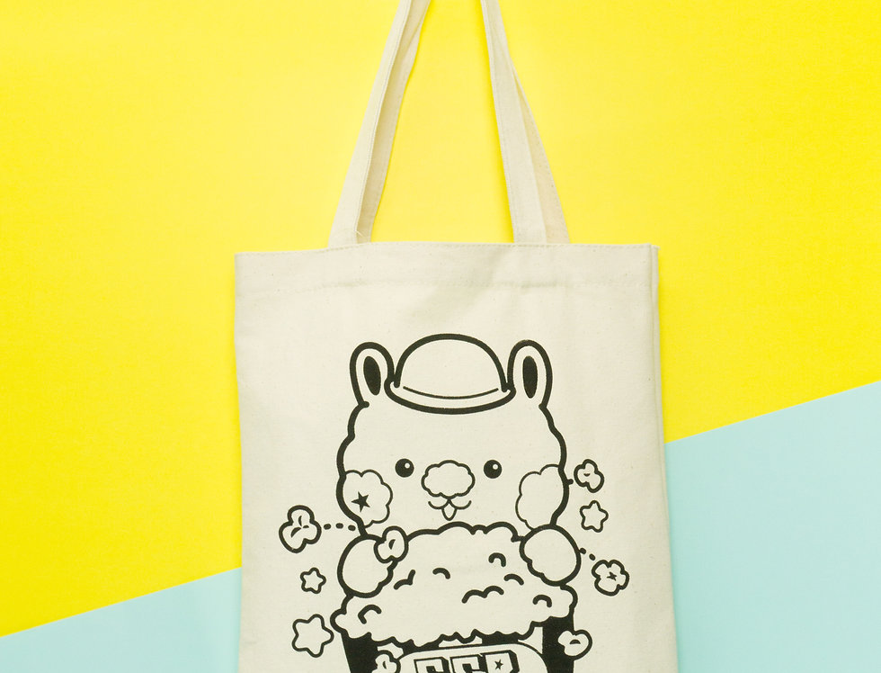 SingSing Rabbit POPCORN TOTE BAG
