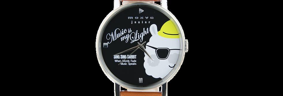 Sing Sing Rabbit X Mozva Junior Quartz Watch Series (Brown)
