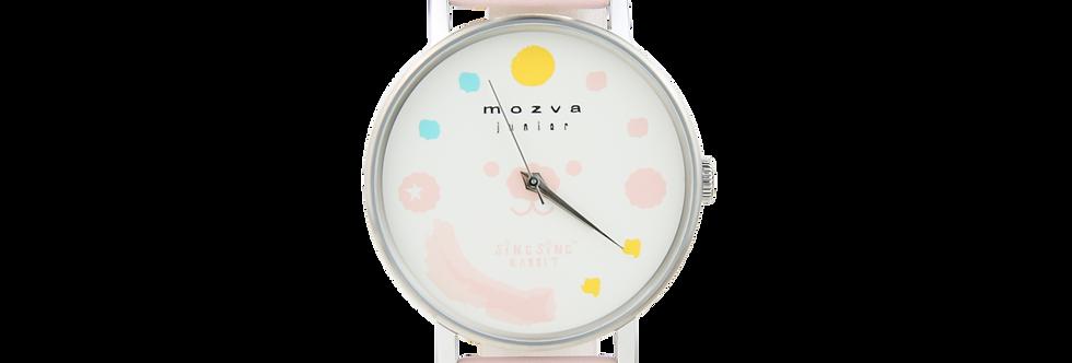 Sing Sing Rabbit X Mozva Junior Quartz Watch Series (Pink)