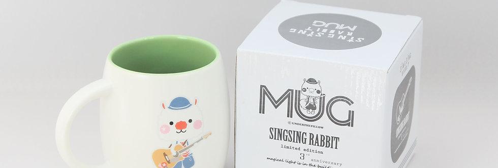 Sing Sing Rabbit 3rd Anniversary Mug