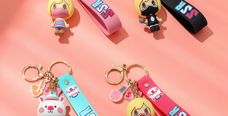Sing Sing Rabbit3D figure keychain collection