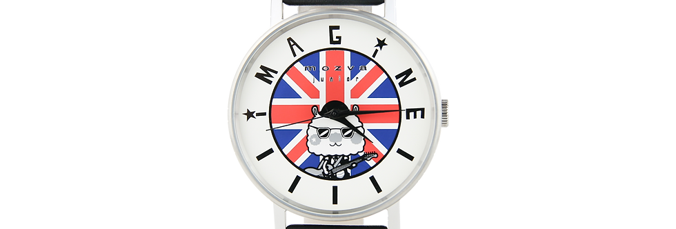 Sing Sing Rabbit X Mozva Junior Quartz Watch Series (Black)