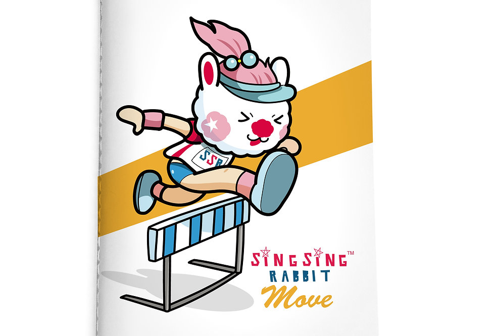 Sing Sing Rabbit Notebook (Surmount)