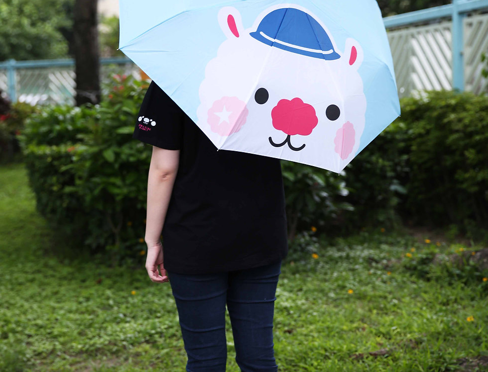 Sing Sing Rabbit head Auto Umbrella