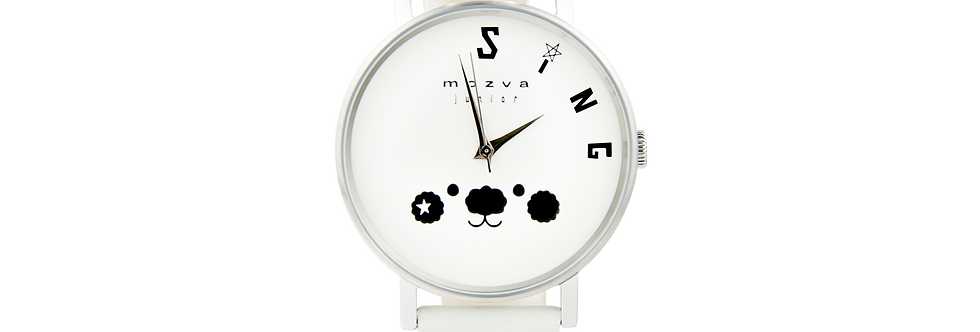 Sing Sing Rabbit X Mozva Junior Quartz Watch Series (White)