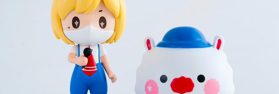 """Sing Sing Rabbit X Toyzeroplus world's first 3D figure """"Live Version"""" ."""