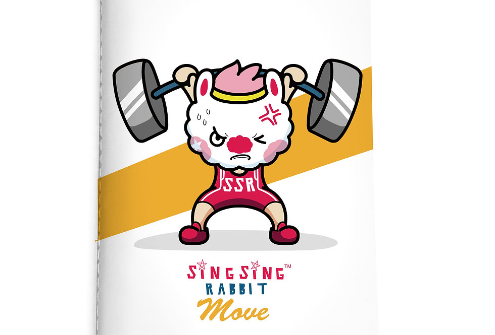 Sing Sing Rabbit Notebook (Strength)