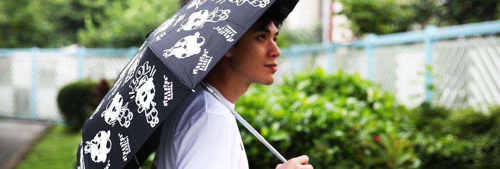 Sing Sing Rabbit color changing umbrella