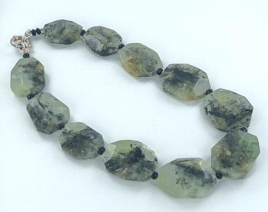 Aventurine onyx necklace