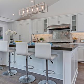santa monica transitional modern kitchen
