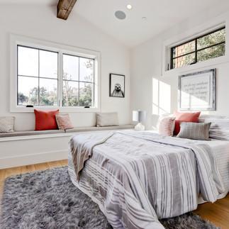 Manhattan Beach White Bedroom Home Stagi