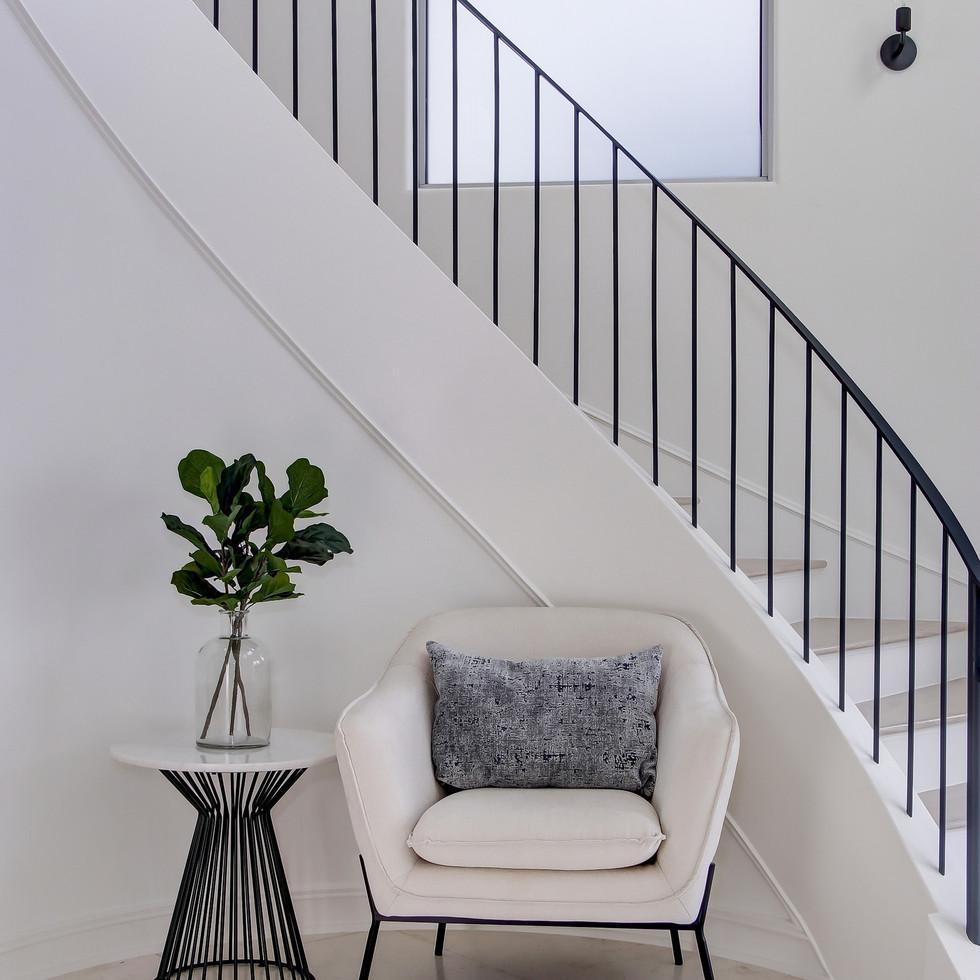 Hermosa Beach White Contemporary Home St