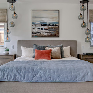 Hermosa Beach Staging Contemporary Bedro