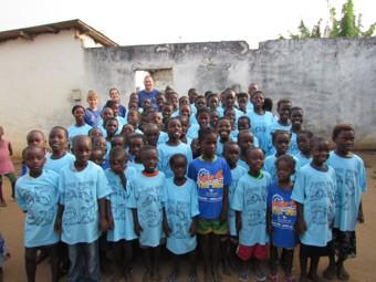 Ghana schoolchildren
