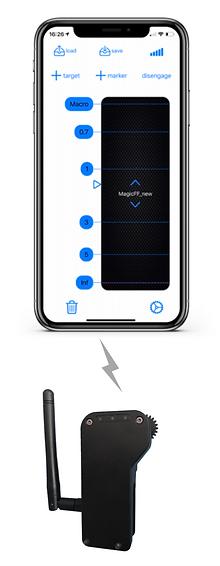 magicff control with ios app