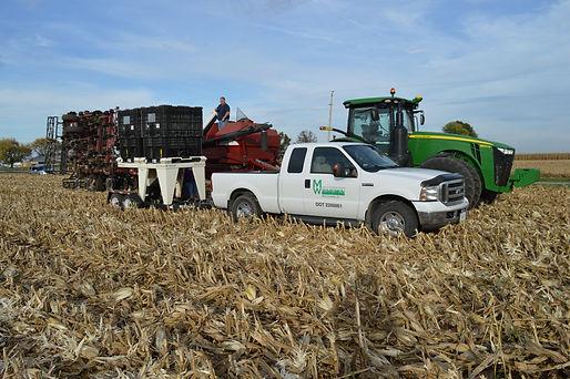 Seeding Cereal Rye in Air Seeder
