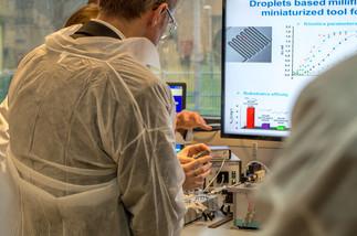 Visites des laboratoires