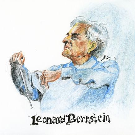 Chefs d'orchestre Leonard Bernstein