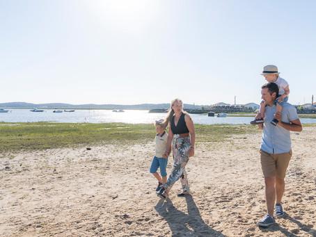 Séance famille et couple au port d'Arès - Bassin d'Arcachon