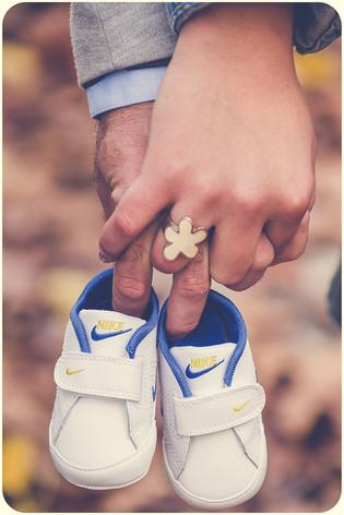 Petites chaussures de sport