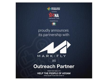 Mark-Fly Publishers With The Indian Awaz Foundation