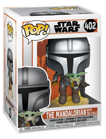 Funko Pop! Star Wars Mandalorian (With the Child) 402