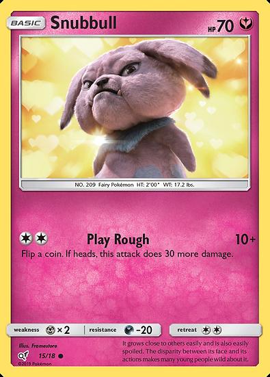 Snubbull Holo (Detective Pikachu #15)