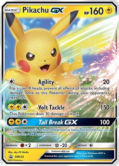 Pikachu GX Promo (SM232)