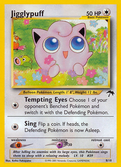 Jigglypuff (Southern Islands #8)