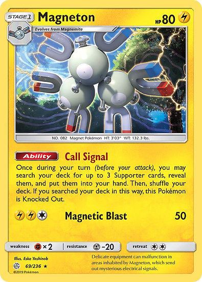 Magneton holo (Cosmic Eclipse #69)